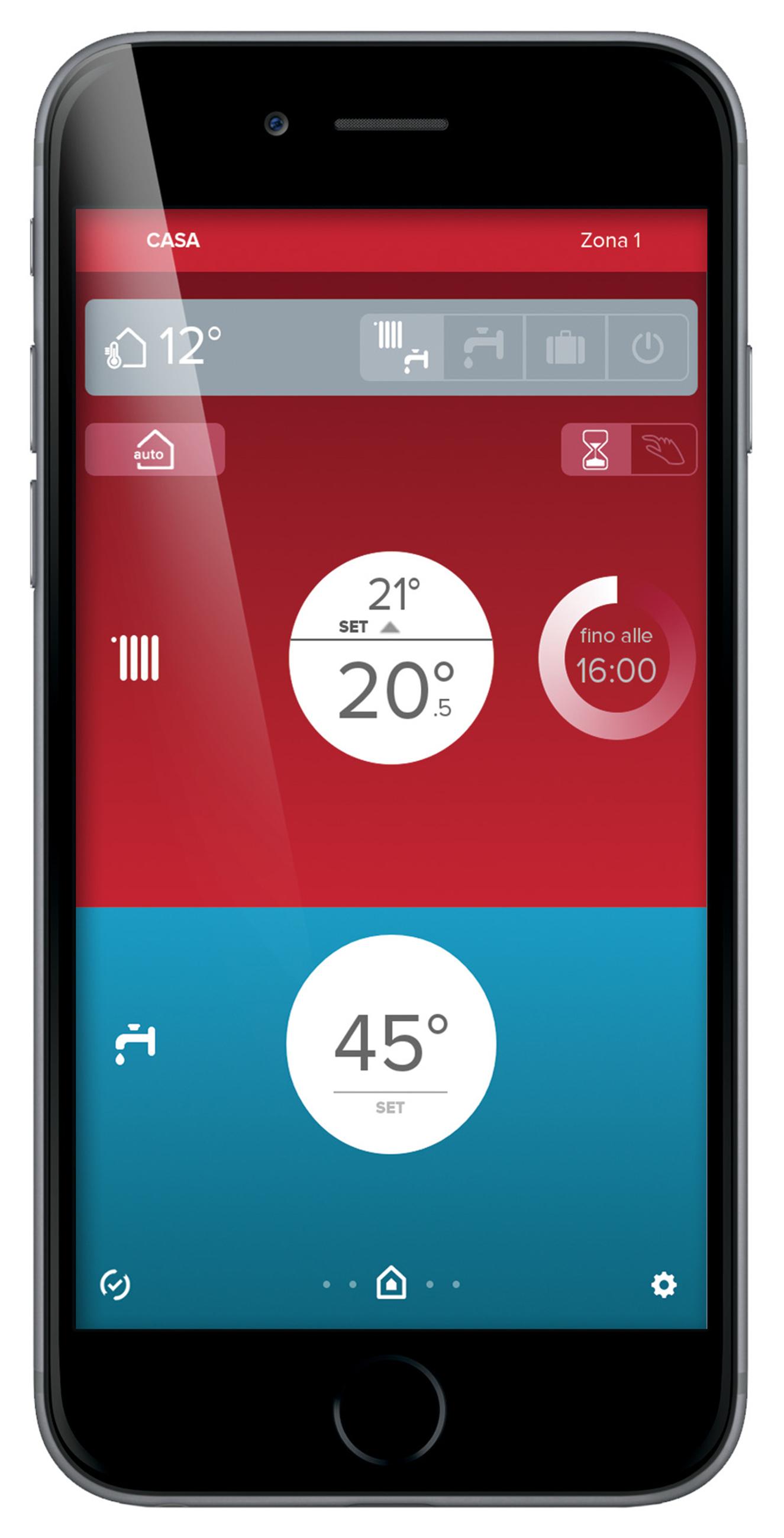 Con Ariston NET l'impianto di riscaldamento è a portata di smartphone