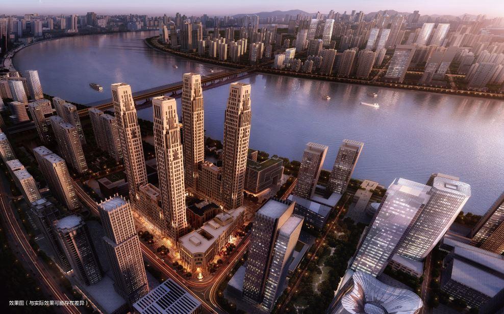 Vanke Metropolis 79: l'architettura neoclassica di Robert Stern ad Hangzhou