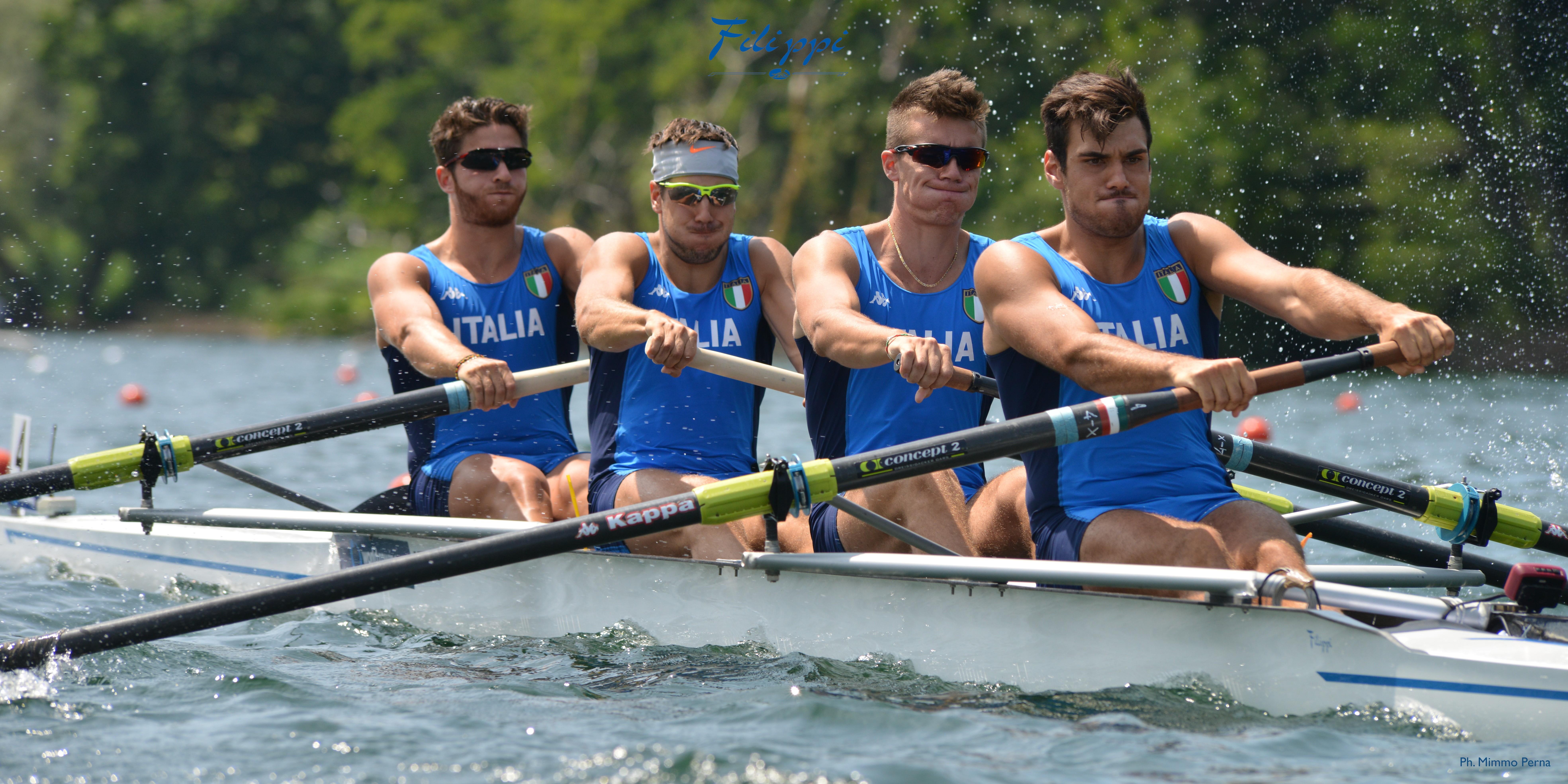 """Grazie a un progetto di tecnologia e ricerca tutto italiano il team del """"4 senza"""" stacca il biglietto per le Olimpiadi di Rio"""