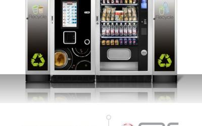 Distributori automatici smart con Hannspree Tablet PC e Monitor Touch