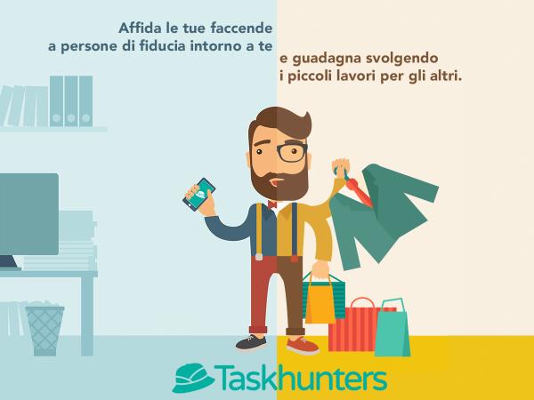 Guadagni per universitari e più tempo libero per chi lavora, ecco Taskhunters!