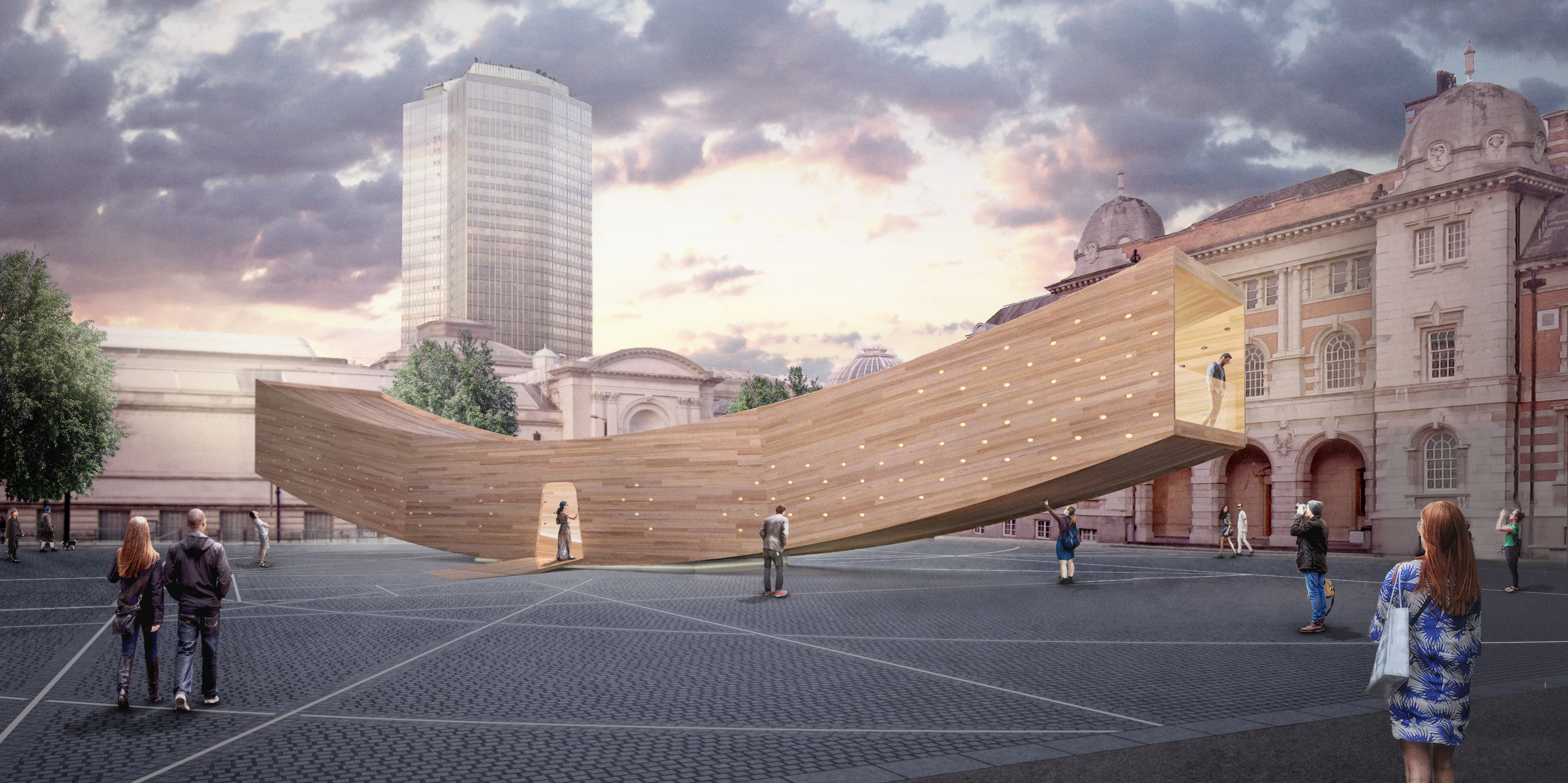 "London Design Festival: AHEC presenta ""The Smile"""