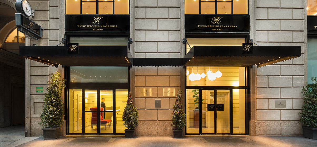 Villeroy & Boch nell'hotel milanese a 7 stelle TownHouse Galleria