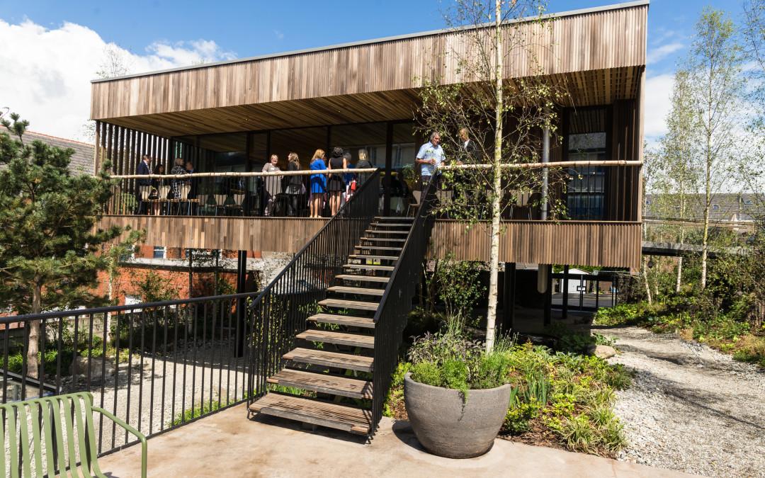 Maggie di Oldham: il primo edificio al mondo in legno di latifoglia americano lamellare a strati incrociati (CLT)
