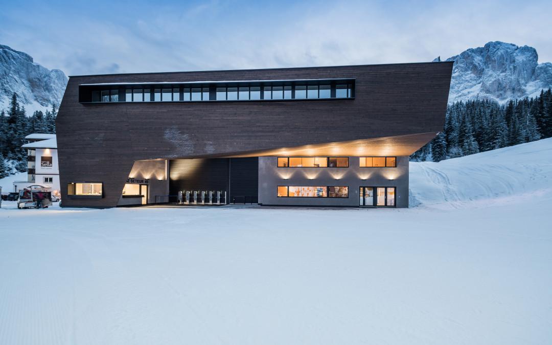 Rubner Objetktbau: una nuova cabinovia in simbiosi con le montagne