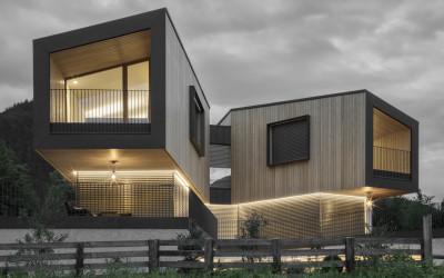 Potenzialità del legno tra tradizione e contemporaneità nella nuova casa Rubner