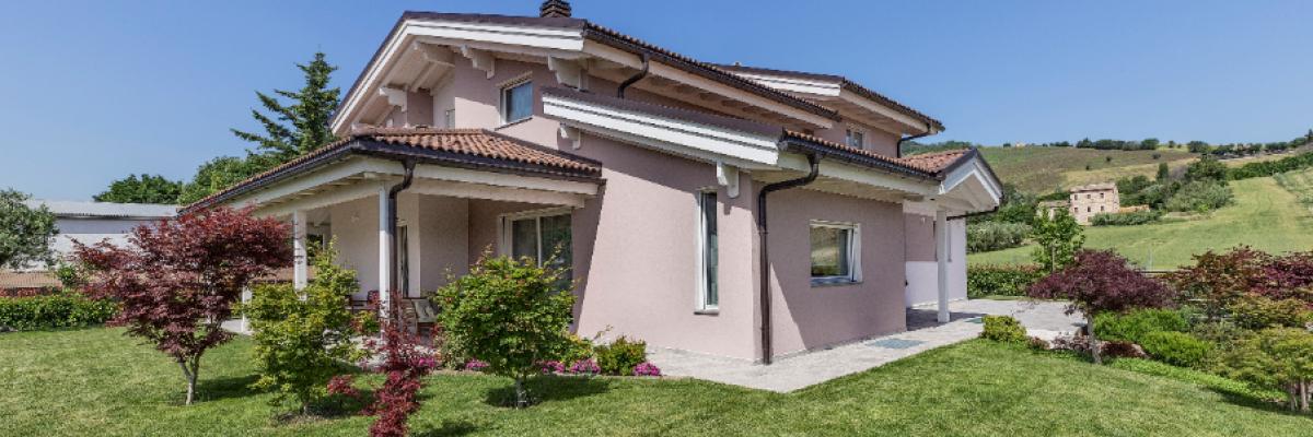 Un'abitazione sicura, naturale e che dona benessere a chi la abita, firmata Rubner Haus