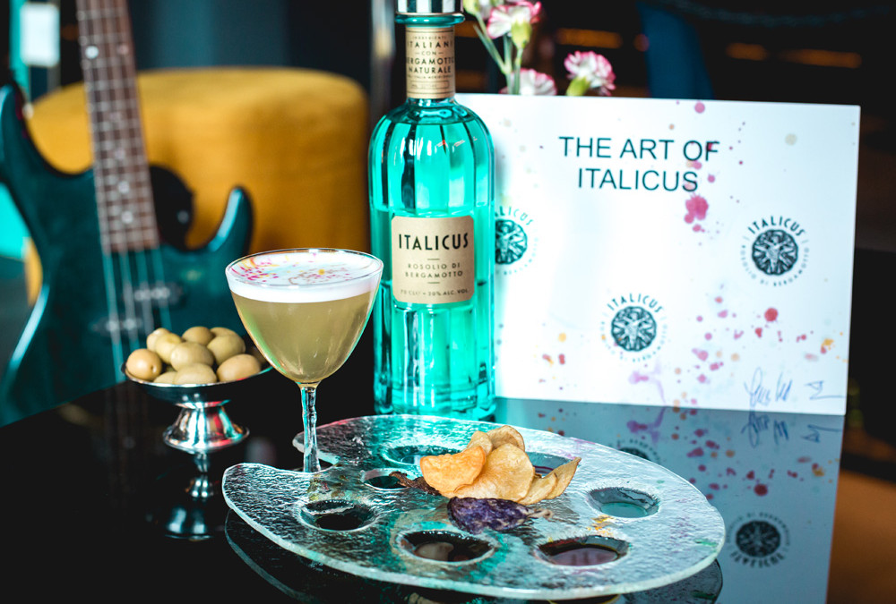 Vince Sketch, il cockatil di Lucas Kelm all'Art of Italicus® Aperitivo Challenge 2019