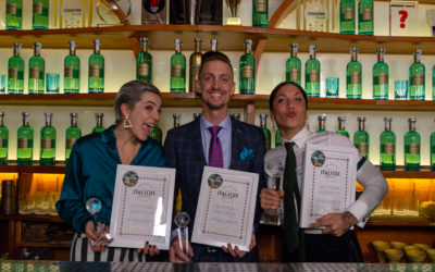 Top3 dei cocktail a base di Italicus, rosolio di bergamotto, premiati all'Art of Italicus Aperitivo Challenge 2019