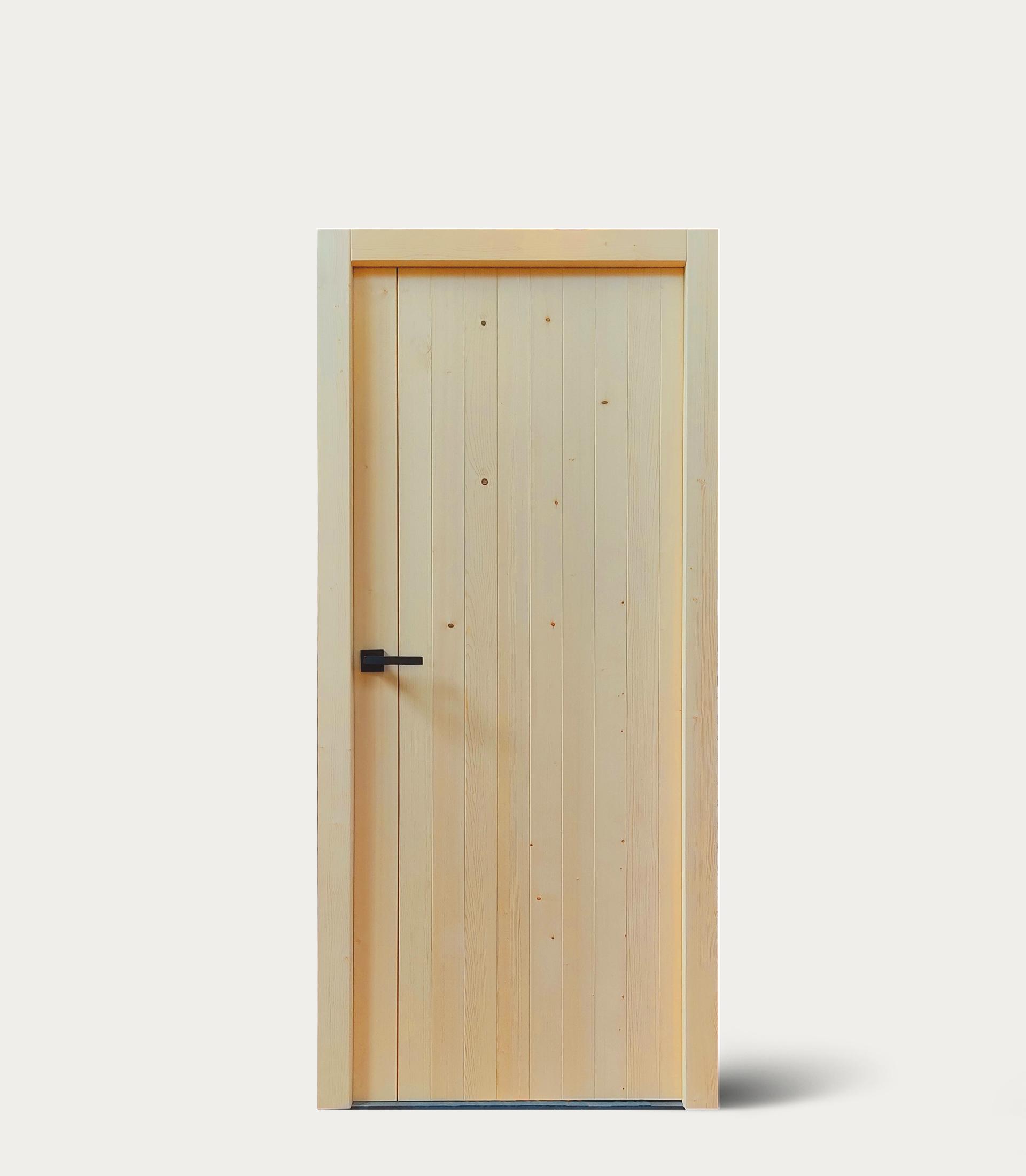 Rubner Türen lancia NOEMI, la nuova porta in legno massello che non fa uso di colle o adesivi chimici
