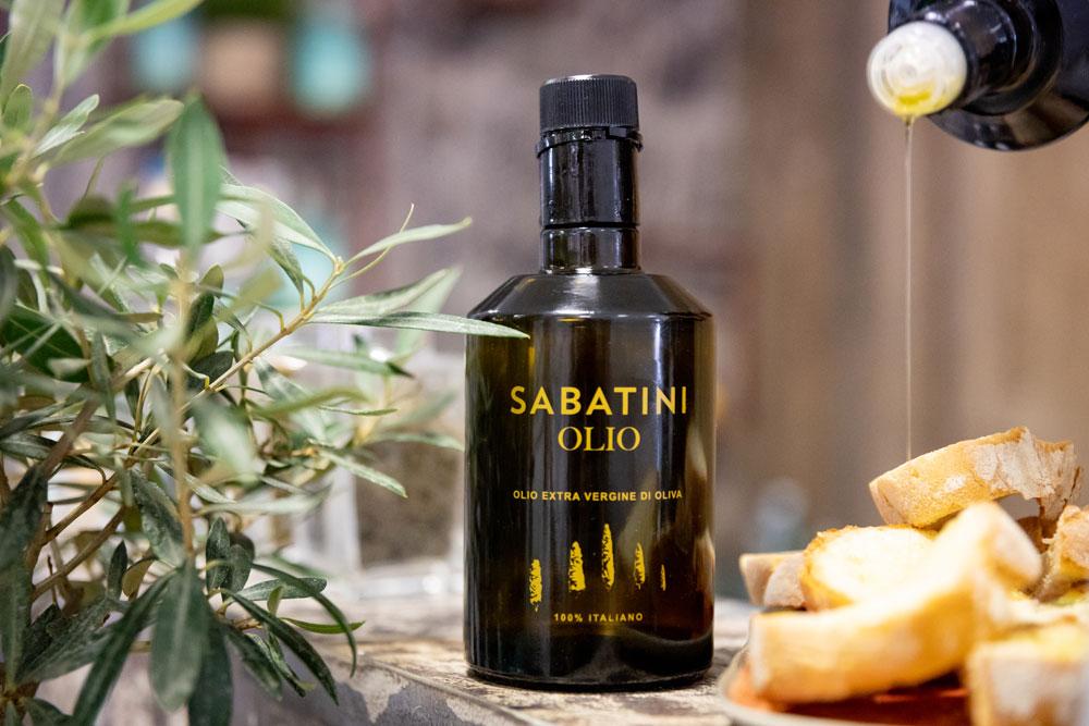 Da Sabatini, l'olio perfetto per le feste natalizie