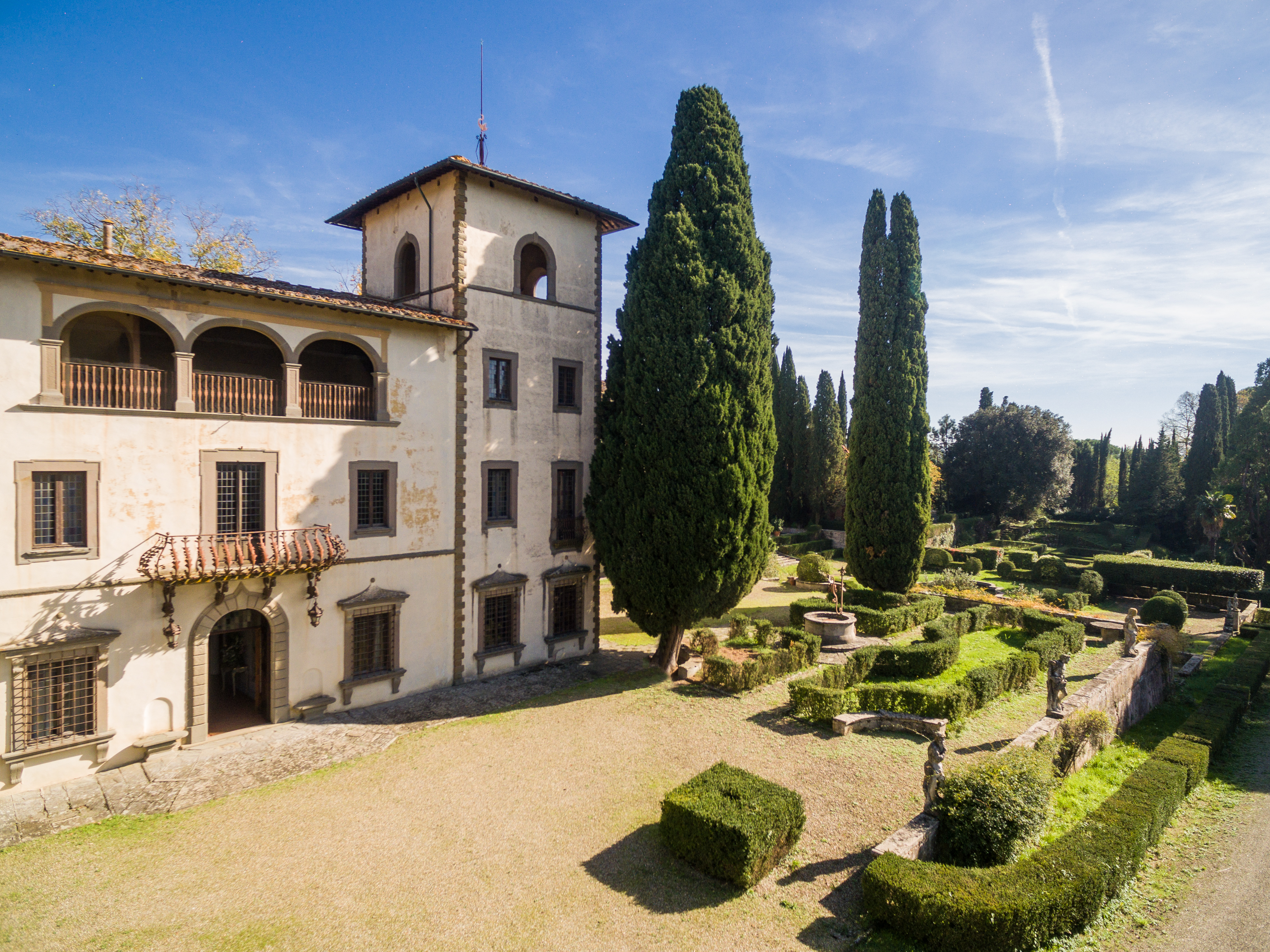 Villa Bibbiani: una cantina fuori dagli standard