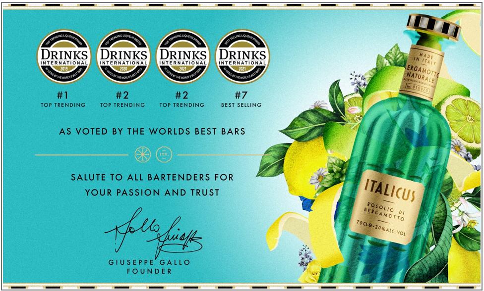 La Challenge ideata da ITALICUS ha premiato i migliori bartender