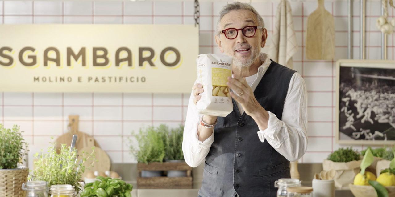 Sgambaro e Bruno Barbieri insieme per nuove ricette