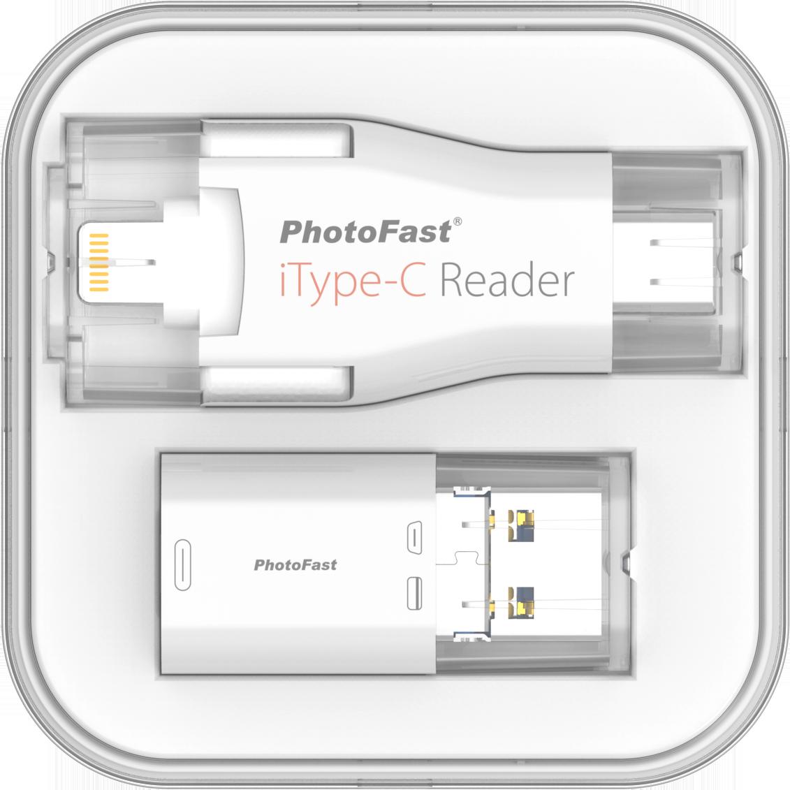 iType-C Reader: l'evoluzione della prima chiavetta universale  4-in-1, dotata di connettore Lightning, USB-C, USB 3.1 Gen1 e Micro USB