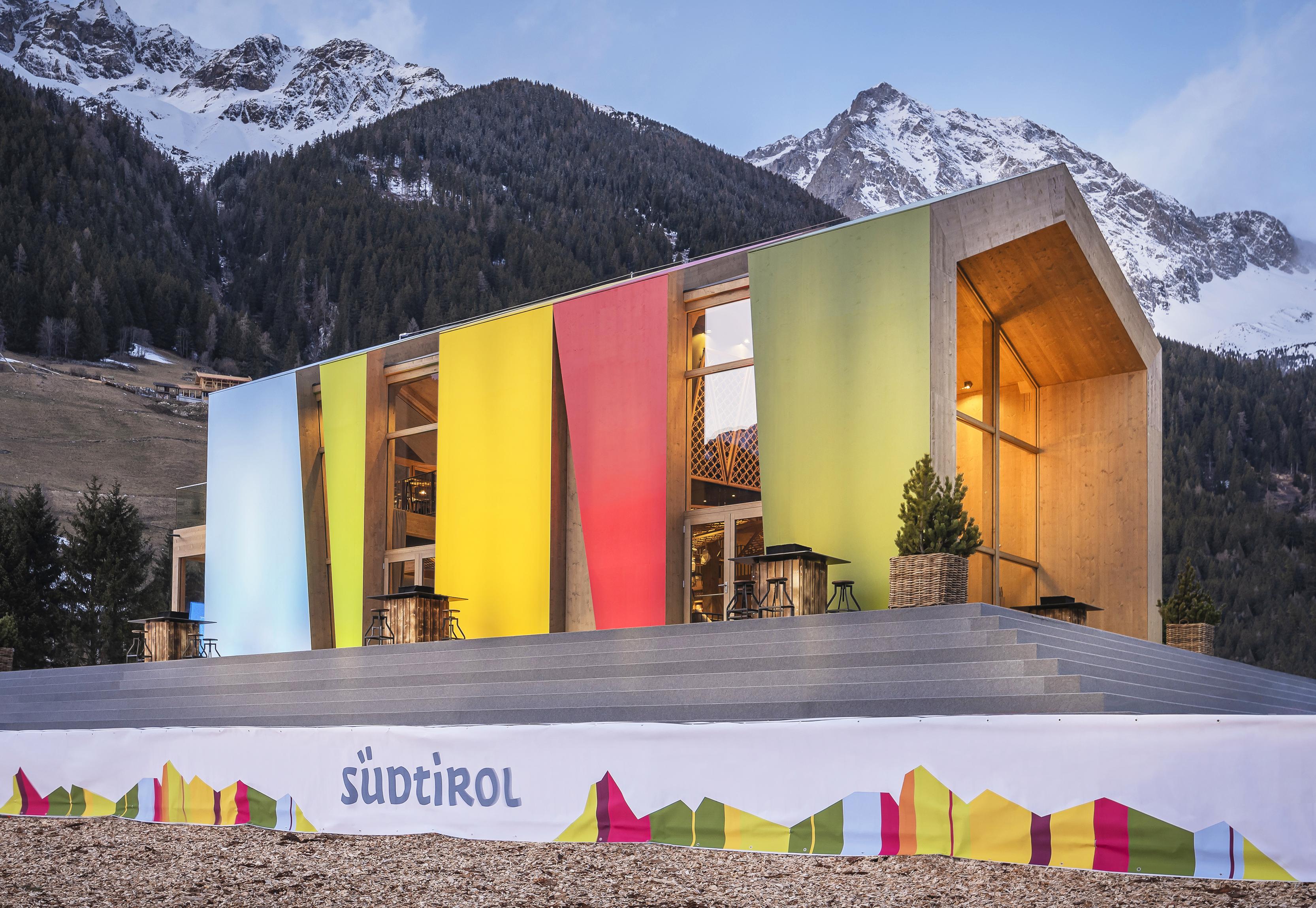 Rubner Haus:  realizzata la Südtirol Home per il campionato del mondo  di biathlon ad Anterselva