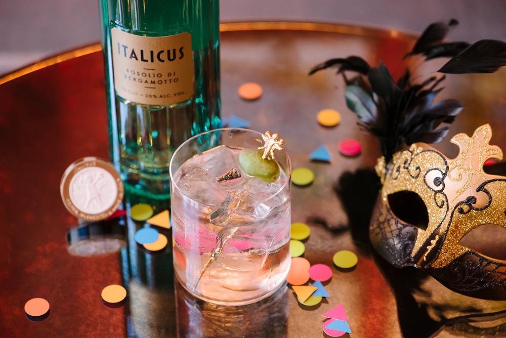 Rugantino diventa un cocktail di Carnevale con Italicus