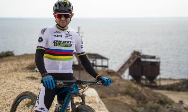 Paez e lo Scott Racing Team all'Elba si allenano testando il tracciato del mondiale MTB